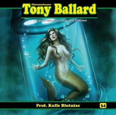 CD-Cover Tony Ballard - Prof. Kulls Blutnixe