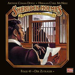 CD-Cover Sherlock Holmes Der Zuträger