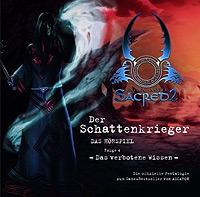 CD-Cover DER SCHATTENKRIEGER 4 – Das verbotene Wissen