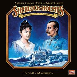 CD-Cover Sherlock Holmes Die dritte Botschaft