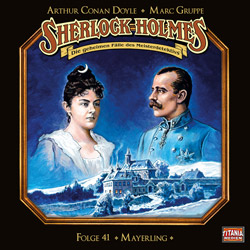 CD-Cover Sherlock Holmes Mayerling