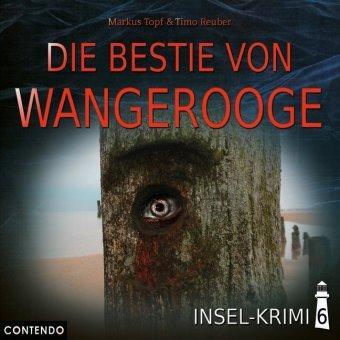 CD-Cover Die Bestie von Wangerooge