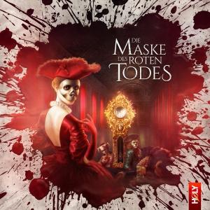 CD-Cover Die Masken des Roten Todes