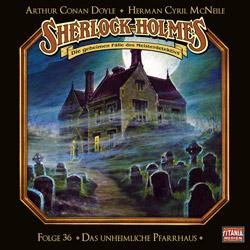 CD-Cover Sherlock Holmes Das unheimliche Pfarrhaus