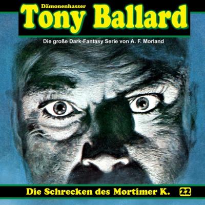 CD-Cover Tony Ballard - Die Schrecken des Mortimer K.