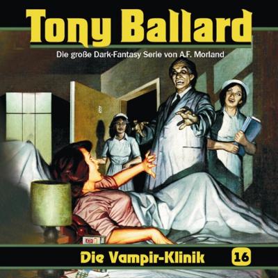 CD-Cover Tony Ballard - Die Vampierklinik