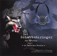 CD-Cover DER SCHATTENKRIEGER 3 – Im Bann der Bestie