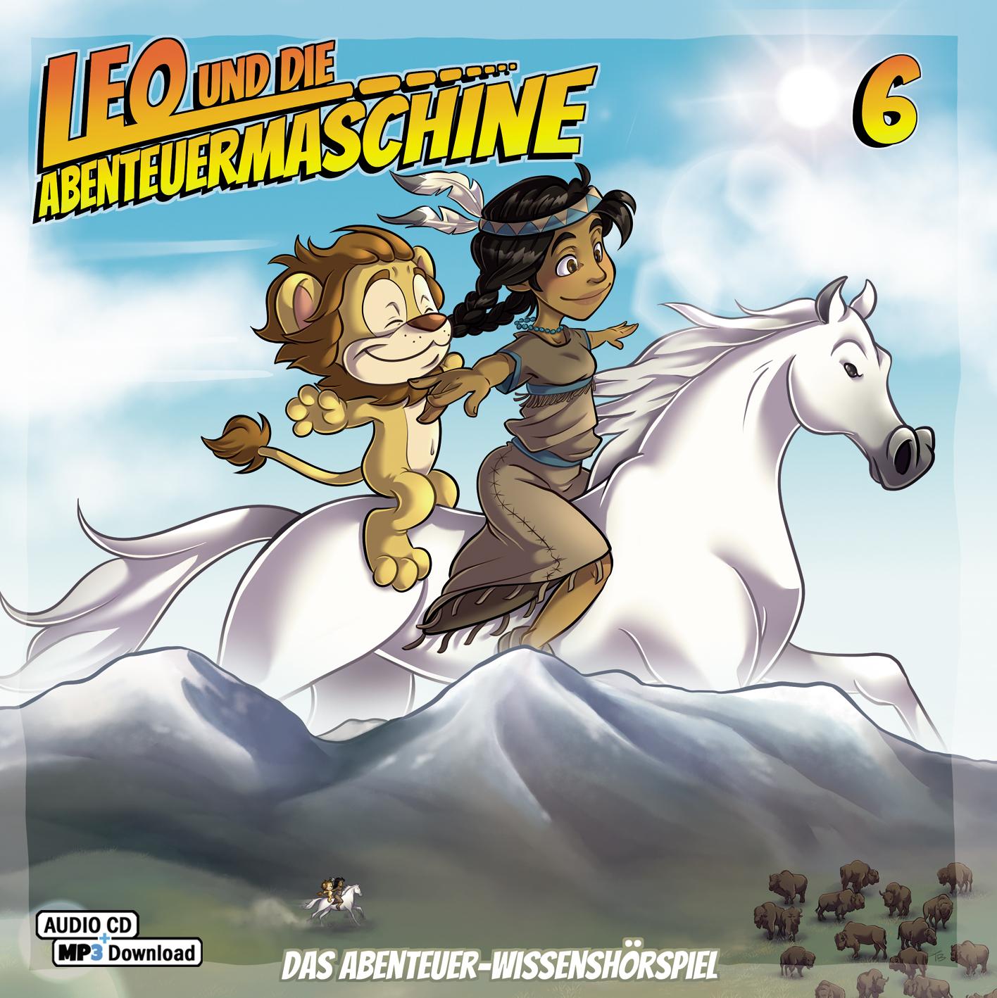 CD-Cover Leo und die Abenteuermaschine 6