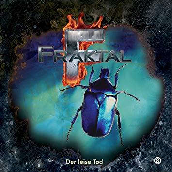 CD-Cover Fraktal - Folge 8 - Der leise Tod