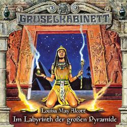 CD-Cover Gruselkabinett Folge 148 Im Labyrinth der großen Pyramide