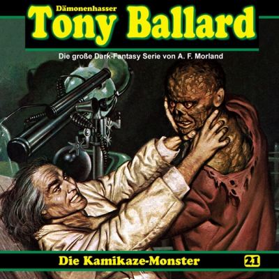 CD-Cover Tony Ballard - Die Kamikaze-Monster