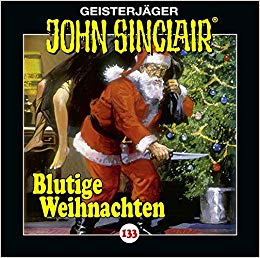 CD-Cover John Sinclair Edition 2000 - Folge 133 - Blutige Weihnachten