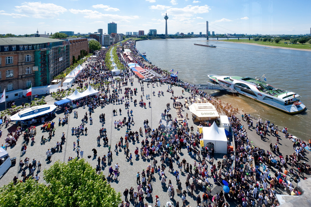 Japan-Tag von oben © Düsseldorf Marketing & Tourismus GmbH