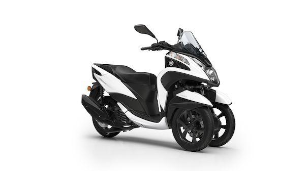 Tricity 125, Multiwheeler für mehr Sicherheit