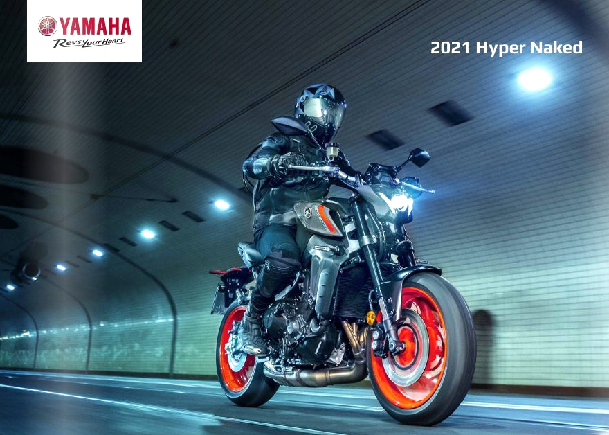 Neue 2021er Yamaha-Prospekte