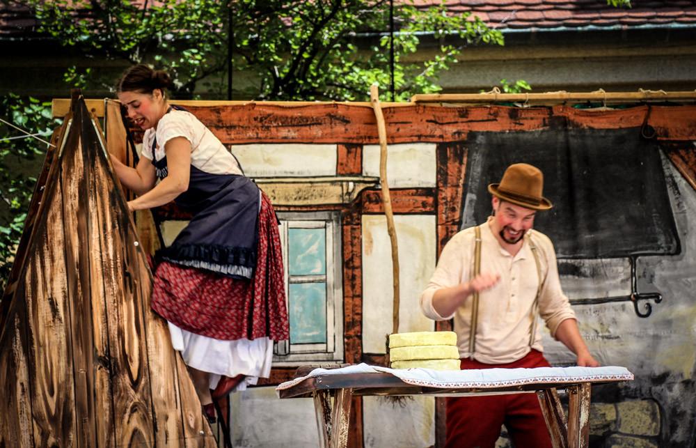 Der Frieder und das Katerlieschen (Premieren-Bilder) Foto: Swen Kaatz