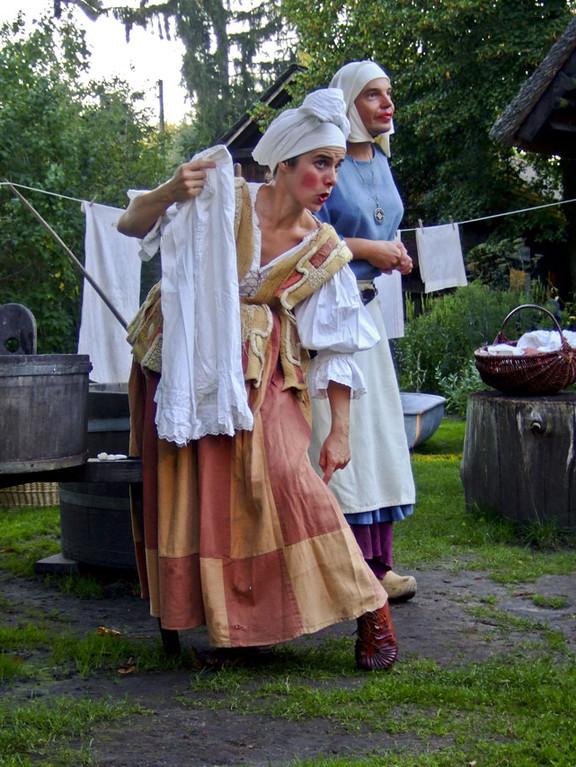 Die Mägde Burgunde und Mechthilde