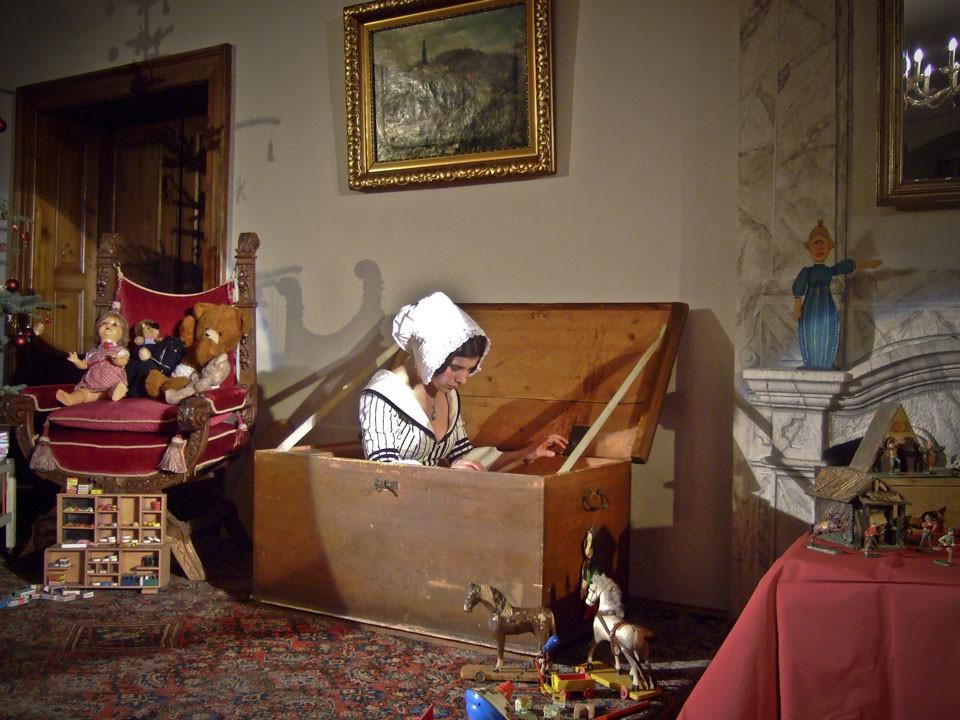 Tanz der Spielzeuge - Märchenszenen im weihnachtlichen Schlosse Weesenstein