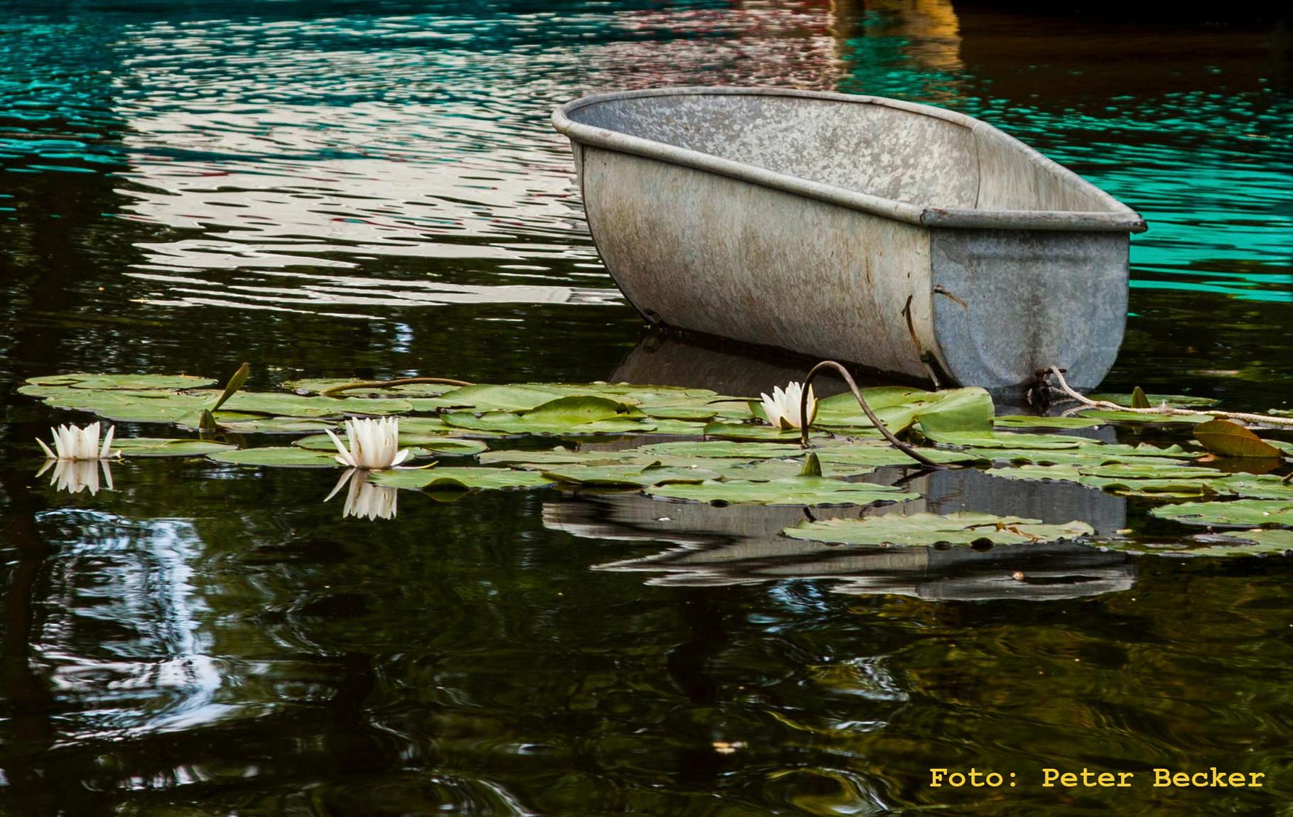 Piraten im Spreewald - Das Boot von Jack und Merry Flintinskorn