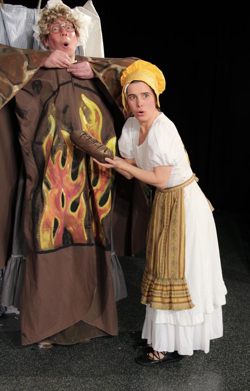 Frau Holle: Der Ofen