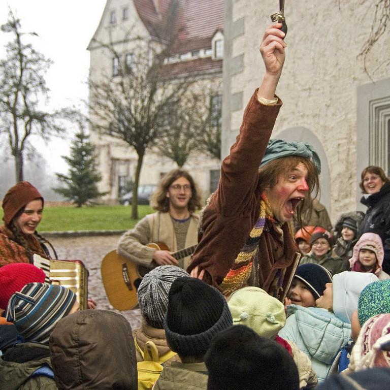Hexe Henriette und Gäste auf Schloss Nossen