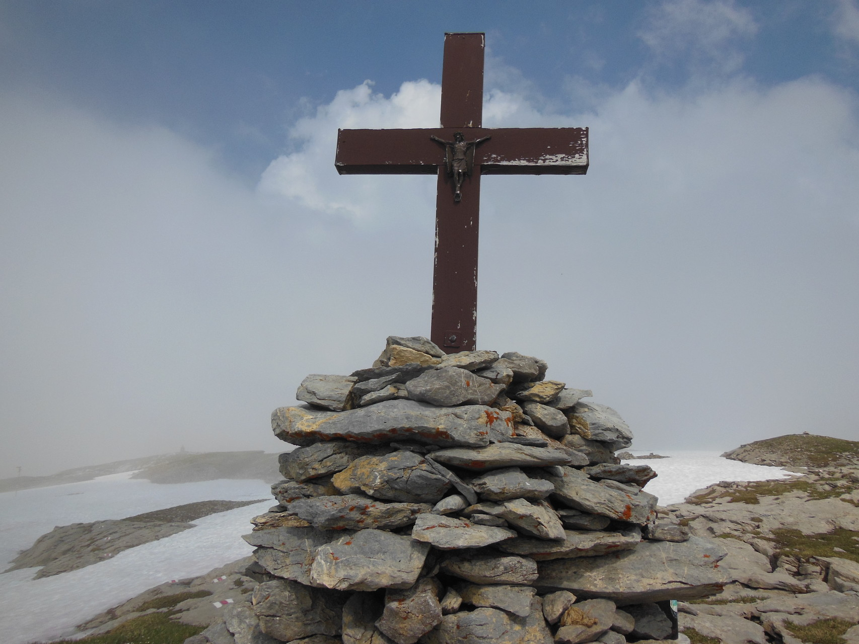 Gipfelkreuz Silberen (Twärenen)