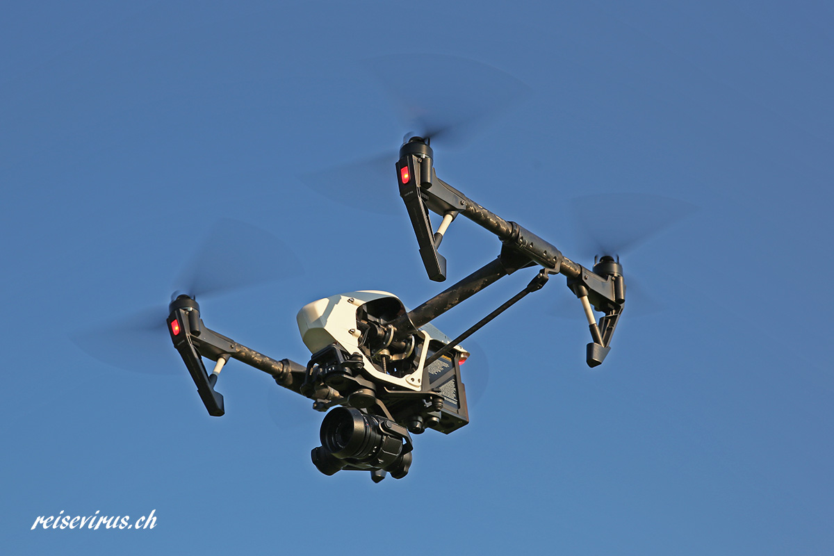 DJI Inspire 1 mit X5 Kamera