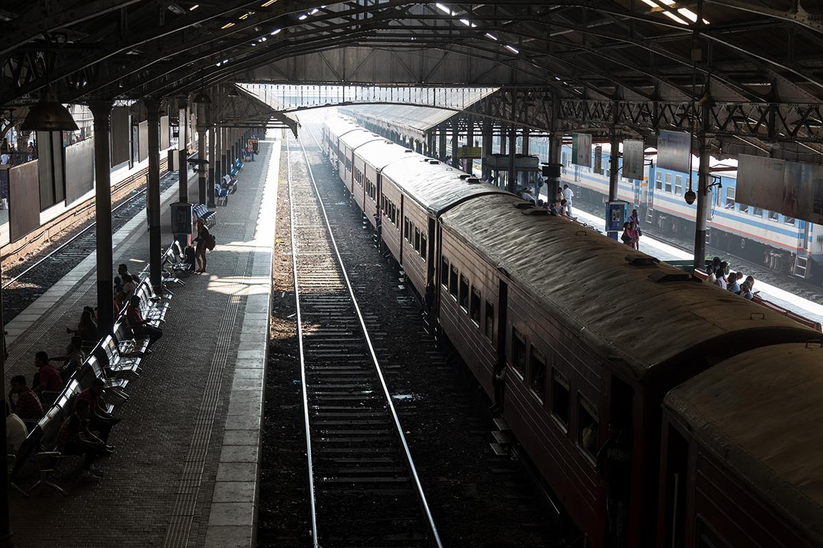 Hauptbahnhof von Colombo