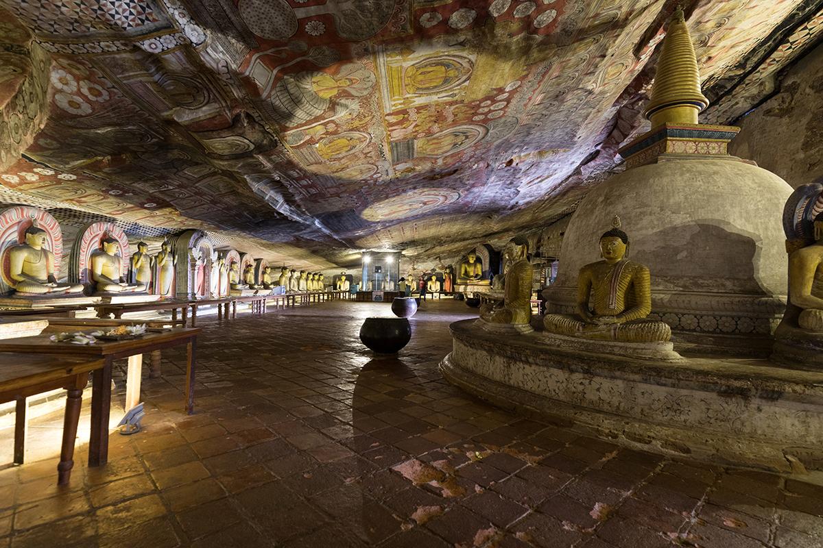 Buddhistischer Höhlentempel Dambulla