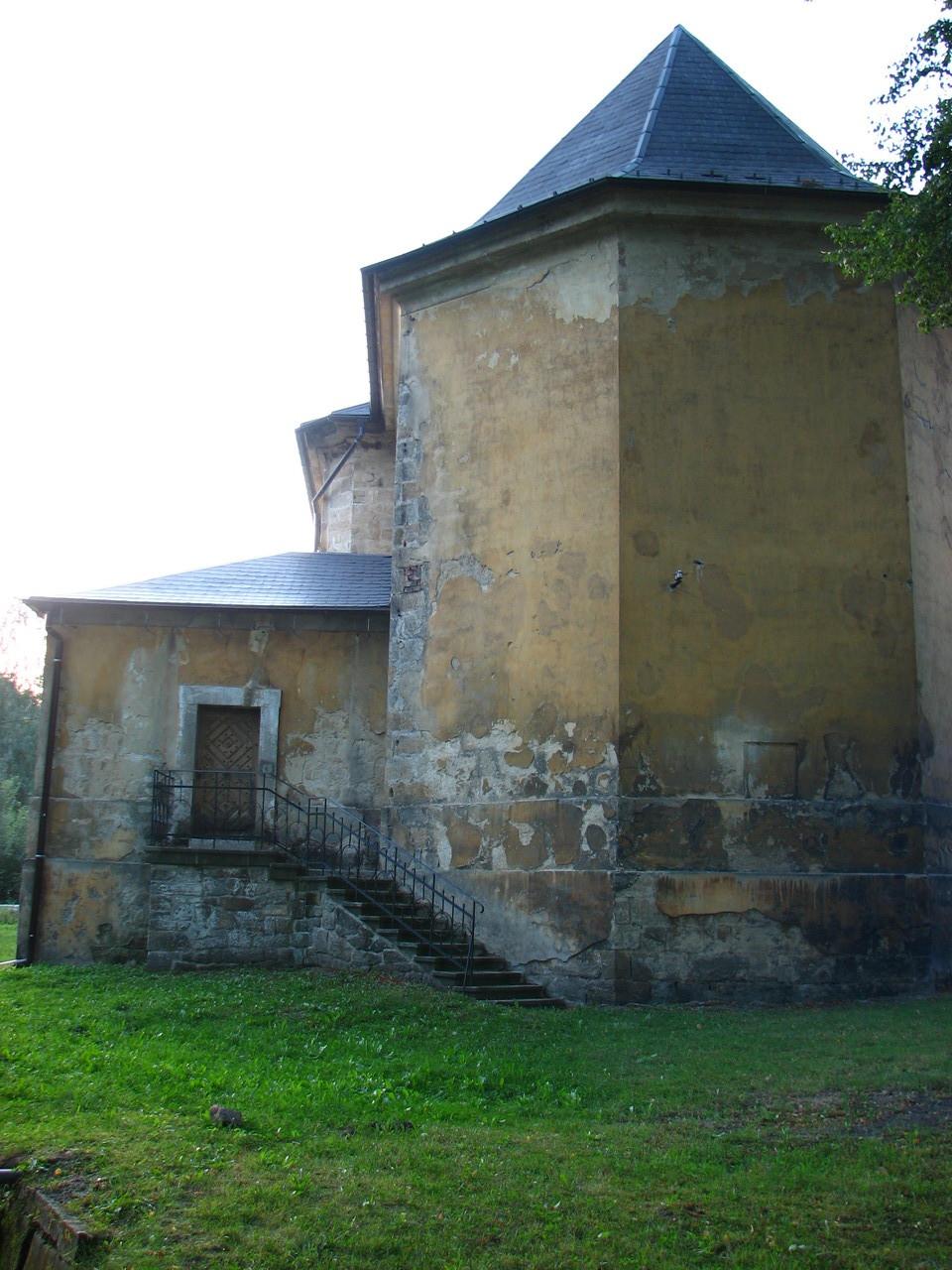 Ein Teil der Kirche