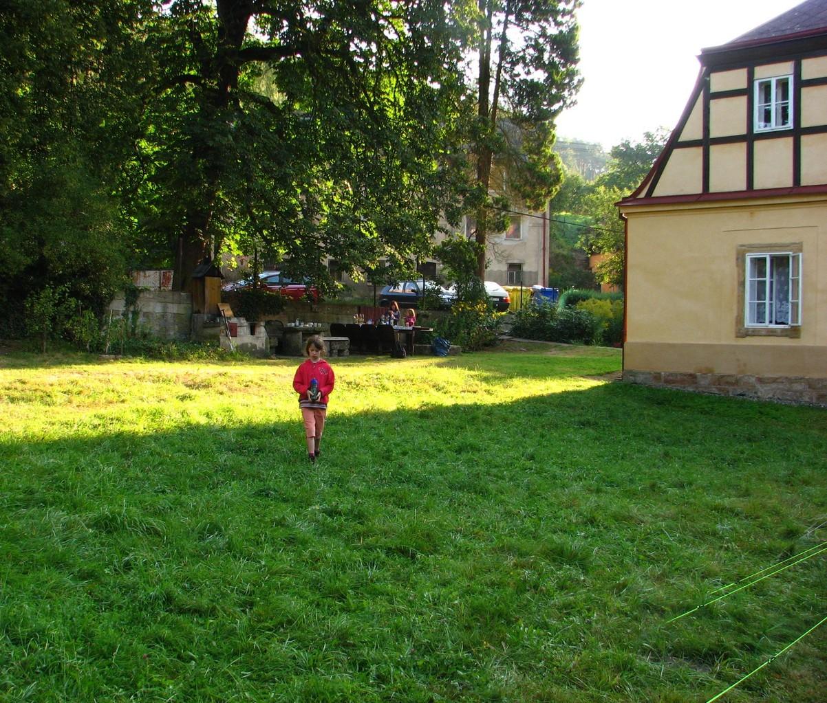 3.Tag früh Morgens, das Grass ist noch nass...