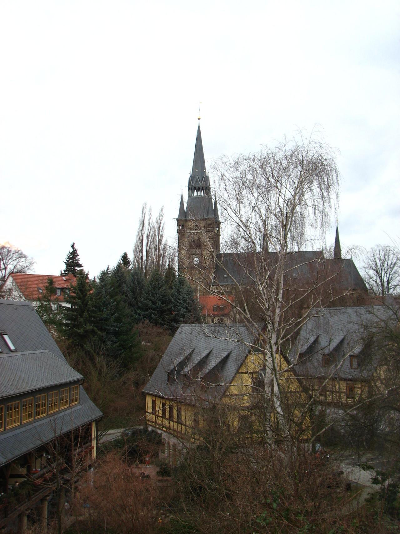 Briesnitzkirche ohne Winter