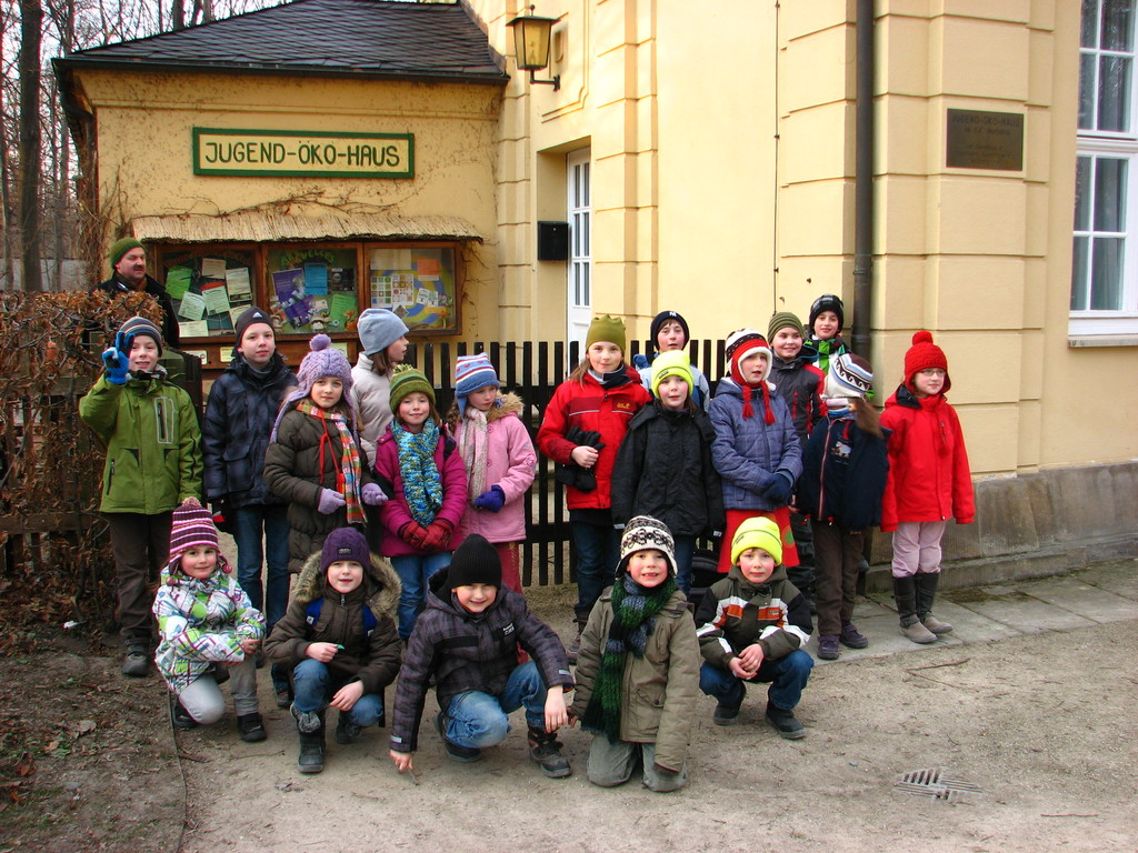 Ankunft am Jugend-Öko- Haus 2012