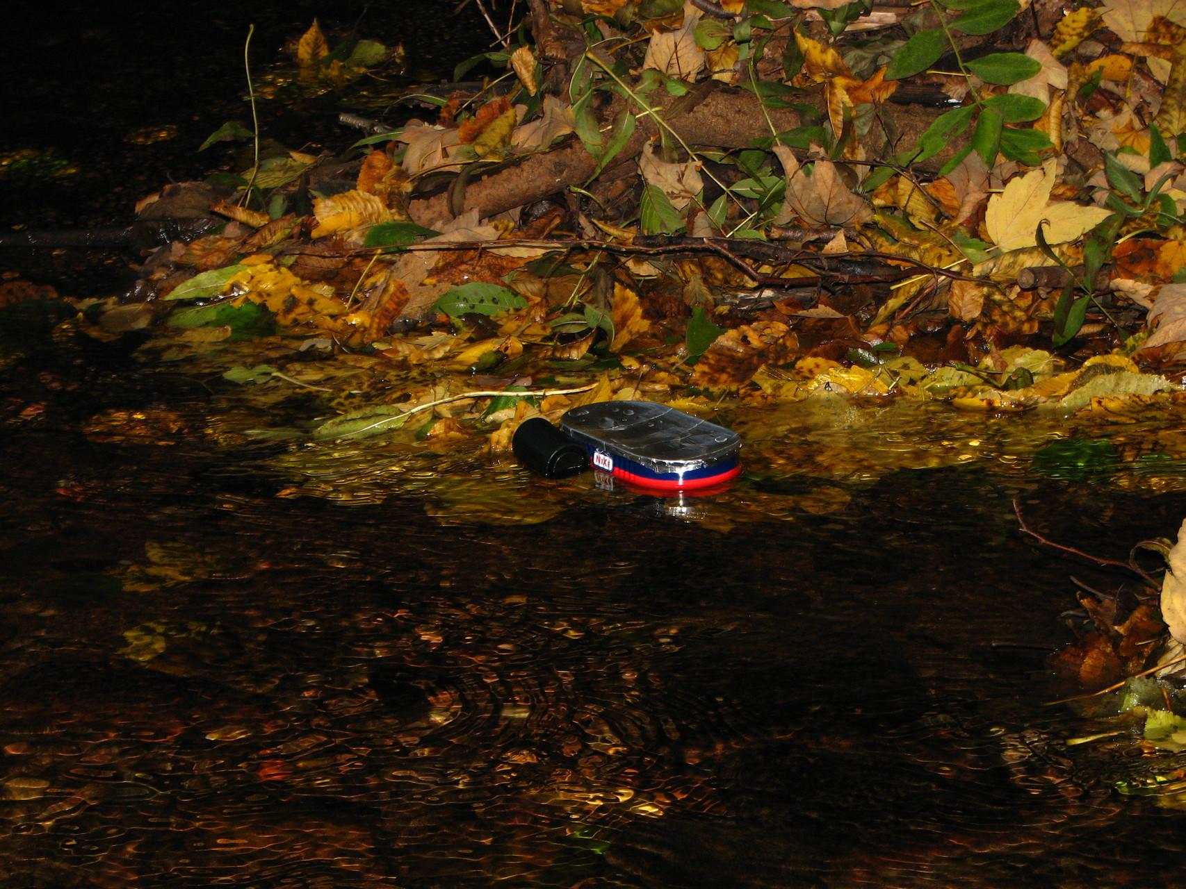 Und wieder hat sich die Fischbüchse ein anderes Boot geschnappt