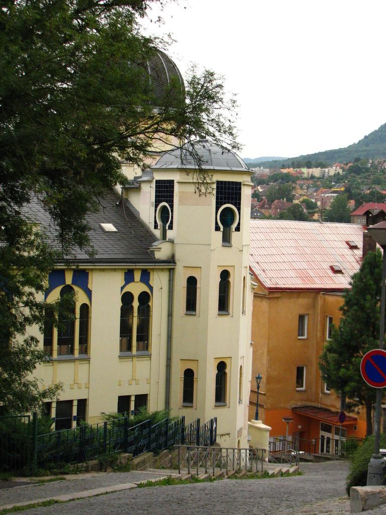 Die Synagoge von Decin.