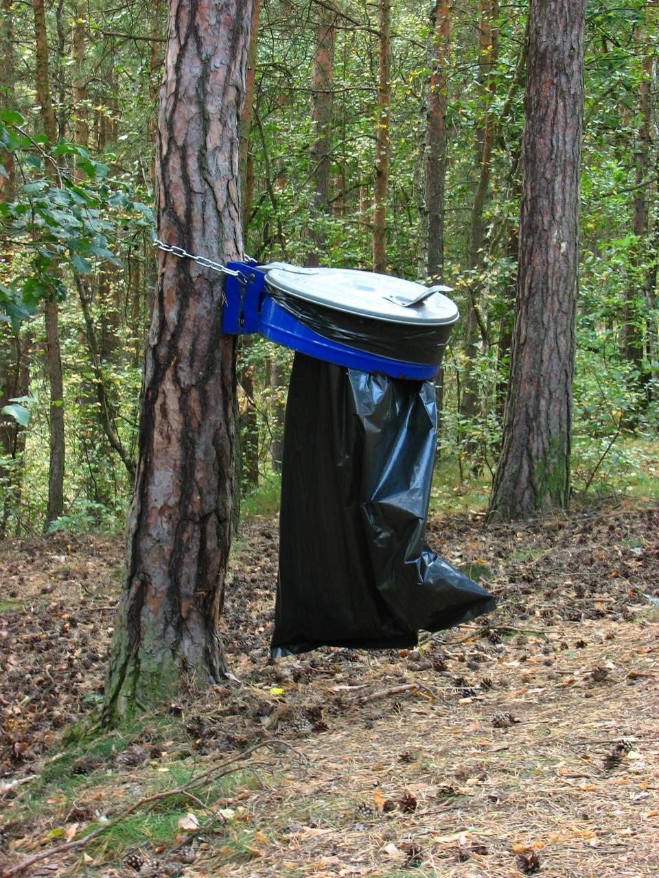 Praktische Lösung für ein Müllproblem