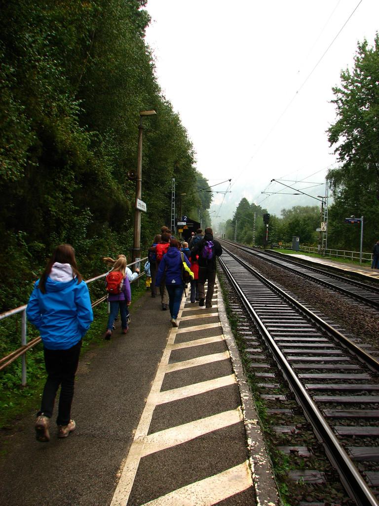 Ankunft in Schmilka