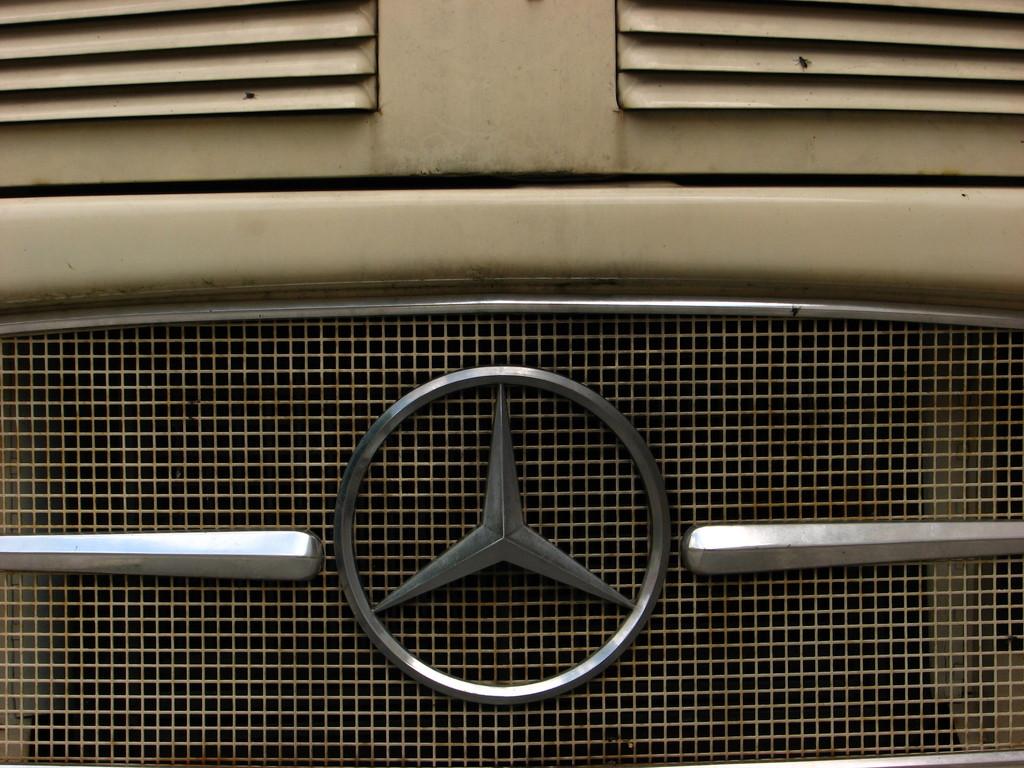 Einer war sogar mit n´em Benz da