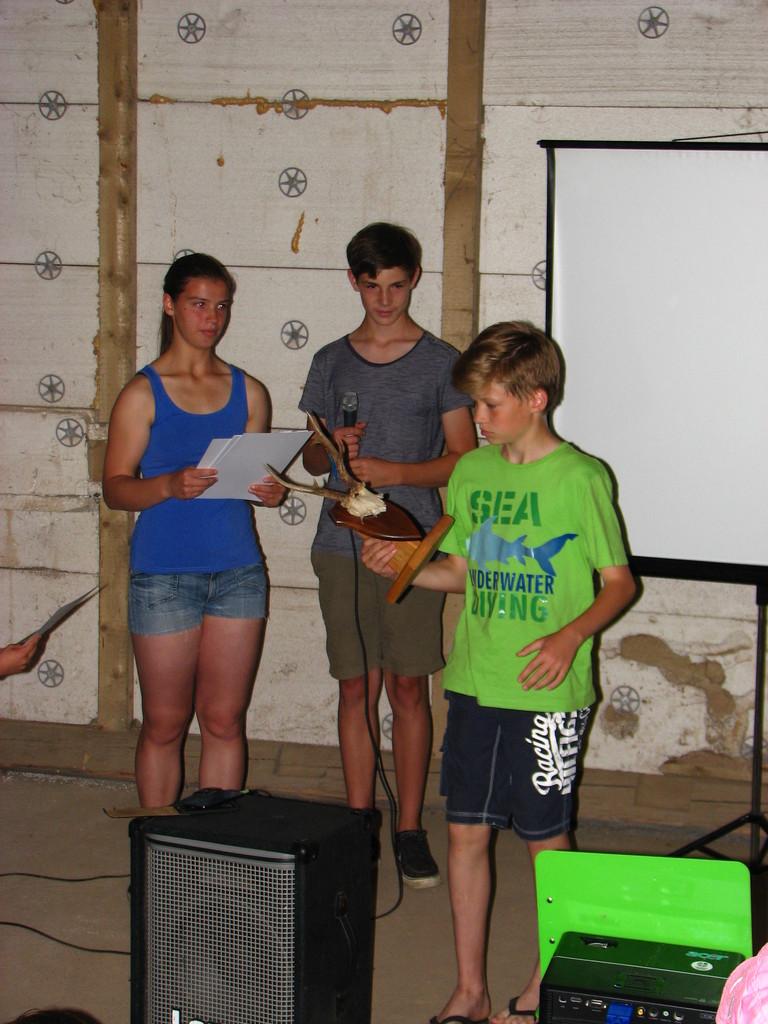 Platz 1, und somit Gewinner des Rehbockpokales 2013 Kreuz 1.