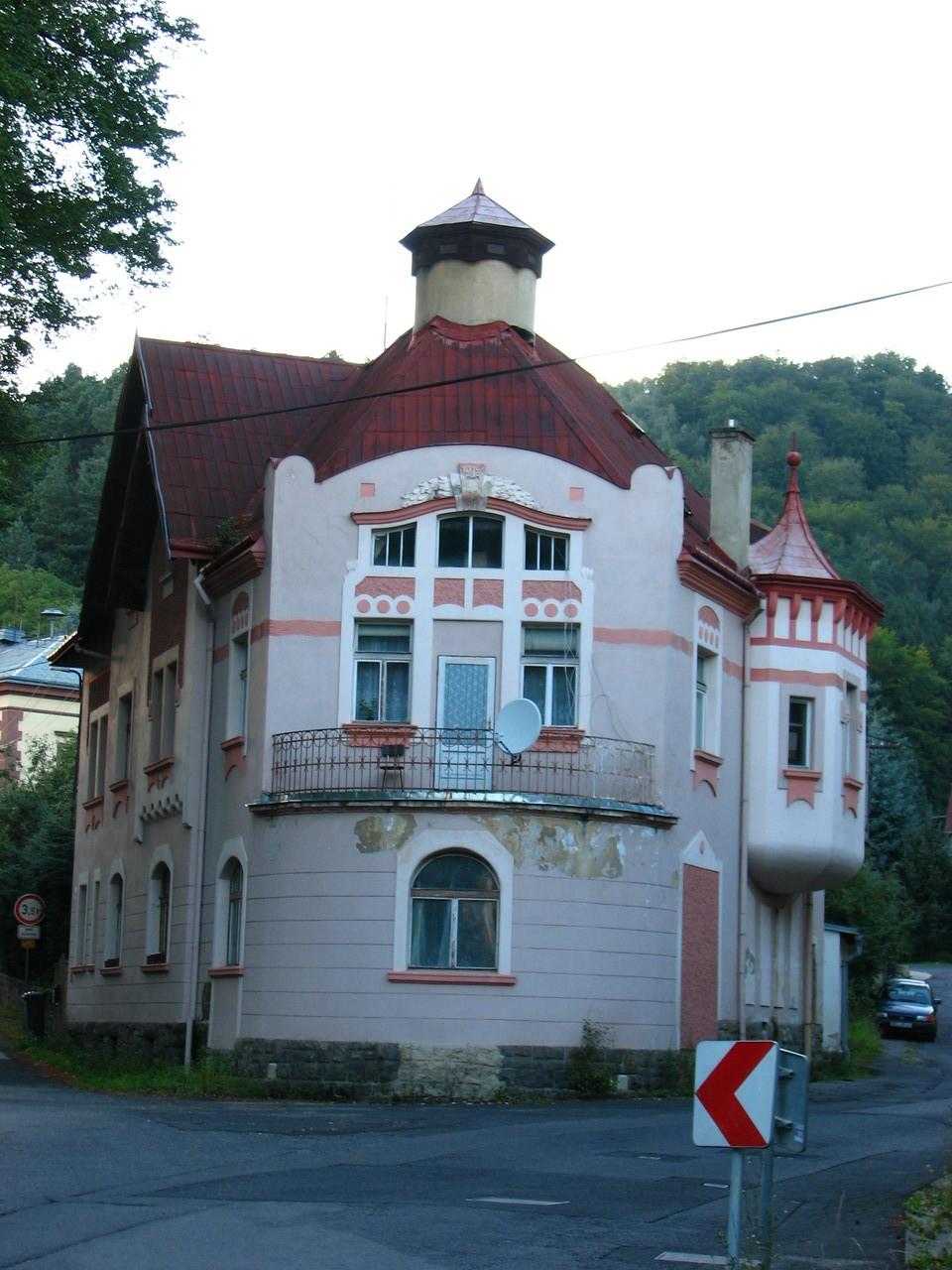 Ein Haus in der Nachbarschaft
