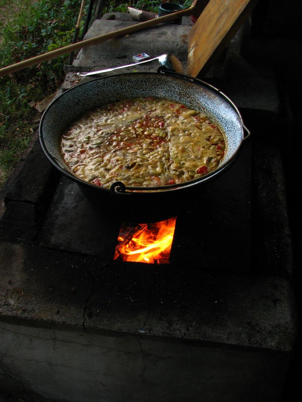 Endlich gibt es Suppe