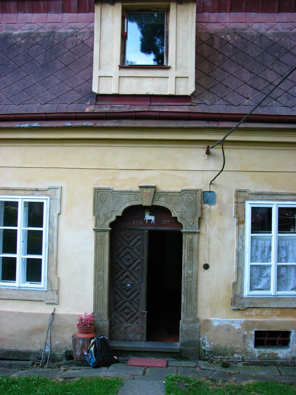 Das Haus von Karl Stein in Biela