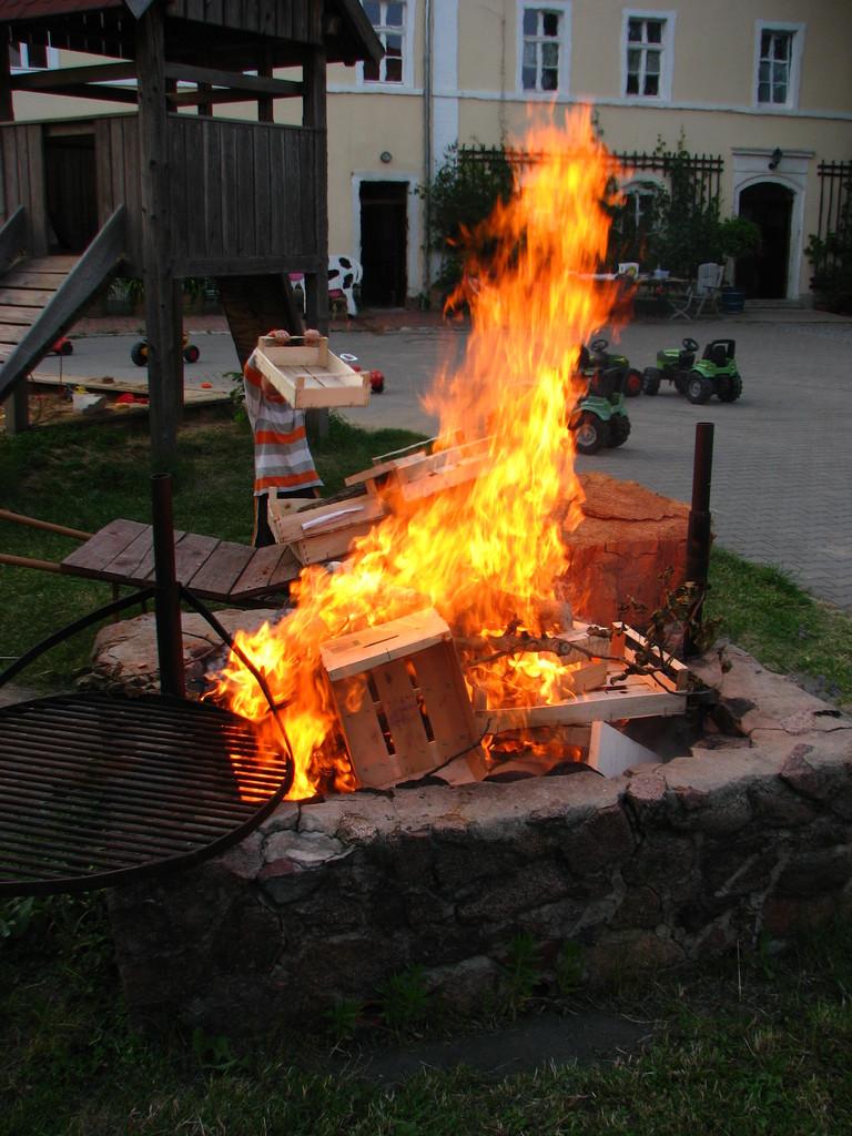 Dann brennt es Lichterloh.
