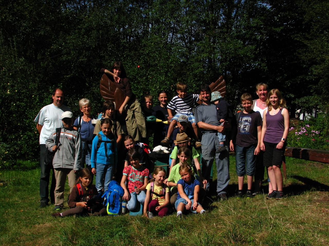 Das Gruppenfoto