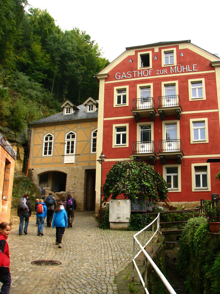 Die Historische Mühle, jetzt Biobäckerei mit sagenhaften Kuchen
