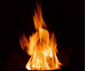 Diffus-turbulente Flamme