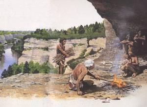 Steinzeitfeuer