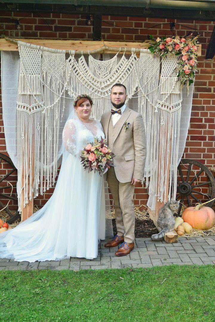 DIY-Hochzeit im eigenen Garten
