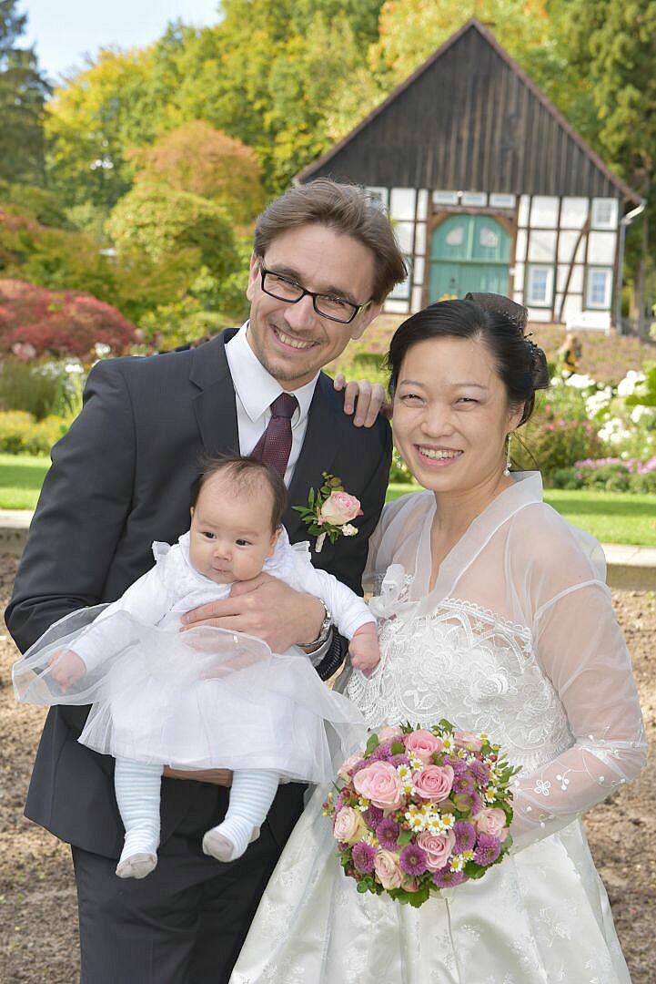 asiatisches Familienshooting