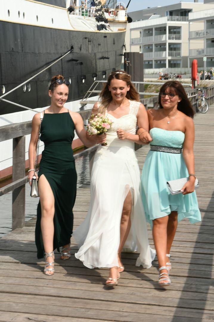 Hochzeit auf der Passat